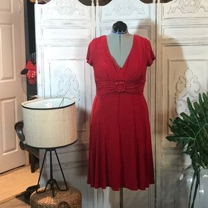 Poly / spandex dress with great recovery